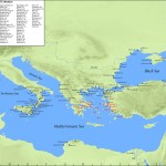 Map Greek Colonies To 500 Bce Oxford Classical Dictionary