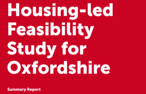 Summary report housing-led feasibility study for Oxfordshire