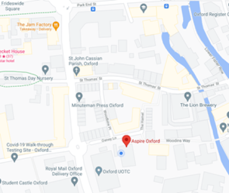 Map of Aspire's location