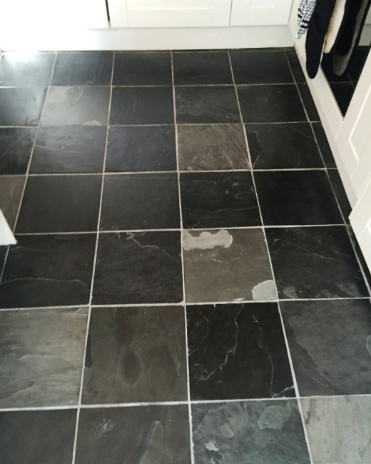 Slate Floor Tiles after refresh Oxford
