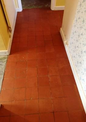 Quarry Tiled Floor Oxford After Restoration