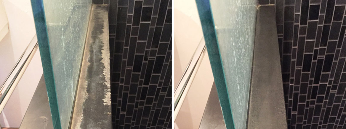 Slate Bathroom Kidlington Before After Cleaning