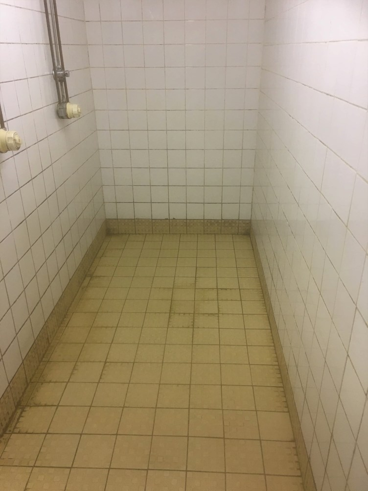 Ceramic Tiled Sports Centre Ceramic Shower Tile Banbury Before Cleaning