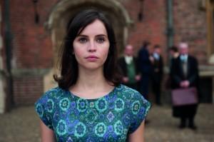 Jones as Jane Wilde, in one of her most demanding scenes.