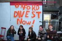 """""""Fossil fuel divestment makes sense, what doesn't is our university doing research into the environmental and economic consequences of continued fossil fuel extraction and use. It's an important political movement and is an opportunity for our student body to make a stand for our future."""" - Miriam Chapman, 1st year Human Scientist, Hertford College"""