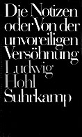 Ludwig Hohl - die Notizen