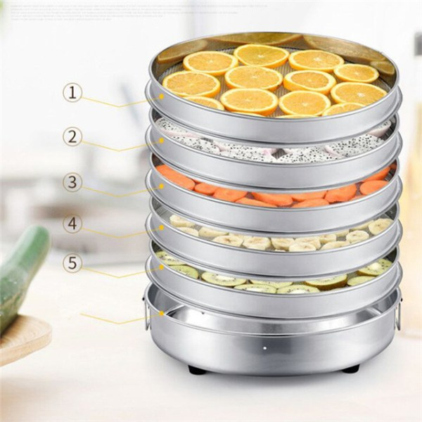 3 layer Mini commercial small scale pineapple tomato potato mango vegetable fruit electric food dehydrator price
