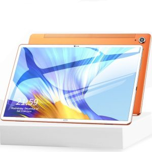 Android 8.0 10.6 Inch Tablet PC 10 Deco Core 4GB RAM 128GB ROM 4G LTE Phone Call 13MP Camera office games for students to learn