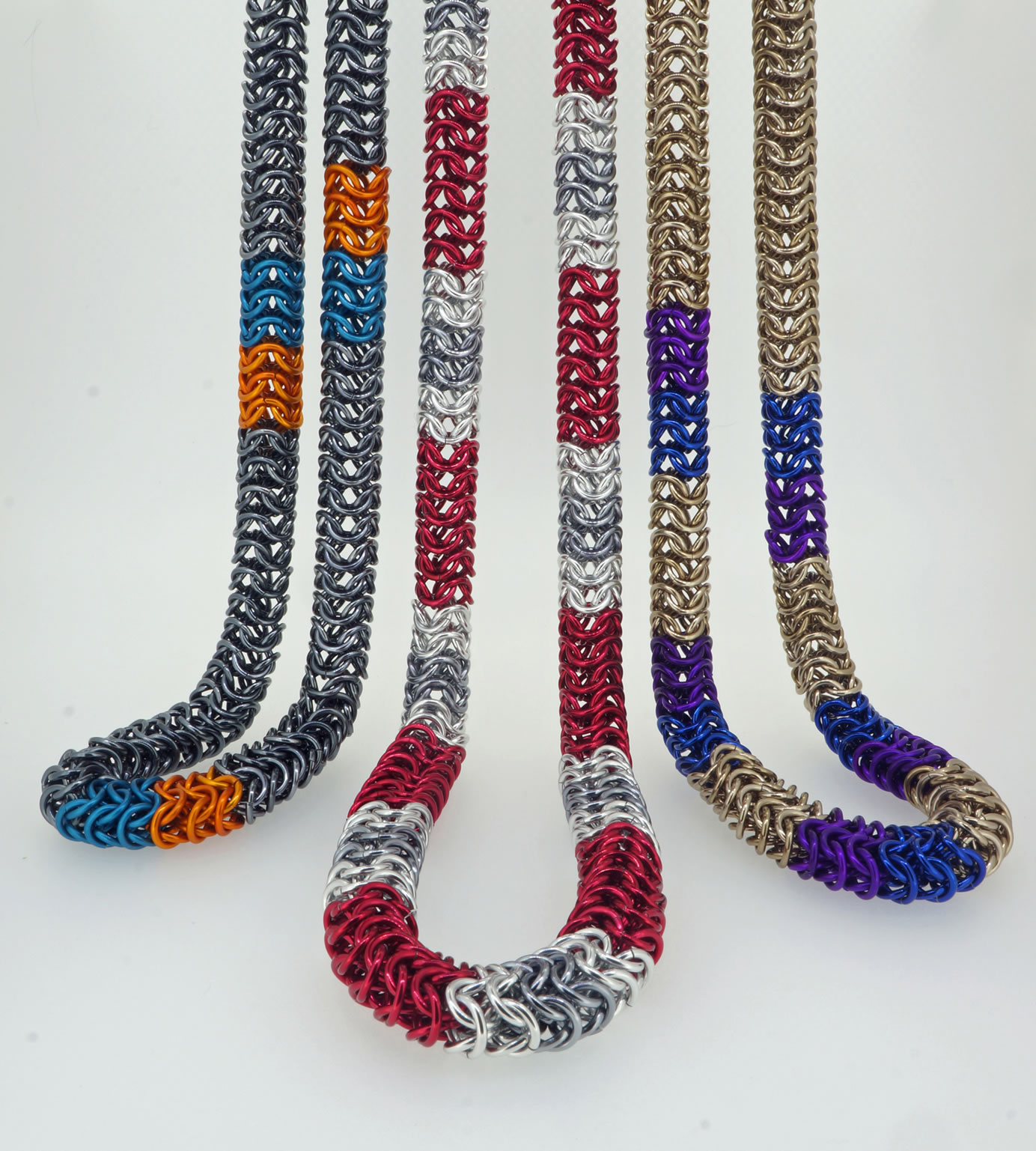 Banded Rope Necklaces