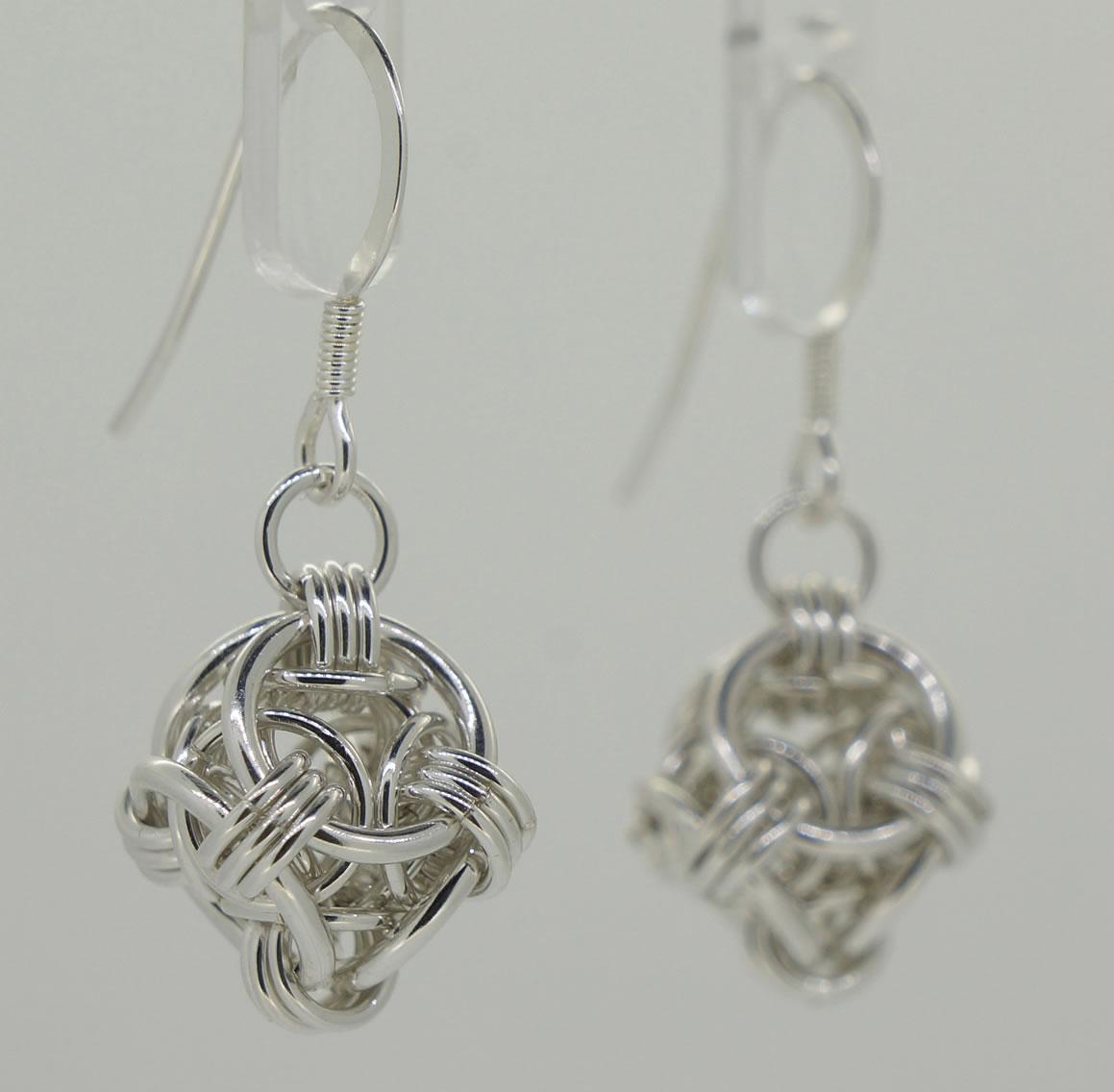 Helm Orb earrings