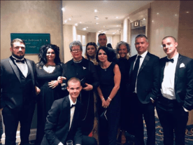 OX Magazine Design and Editorial team at the British Media Awards 2019