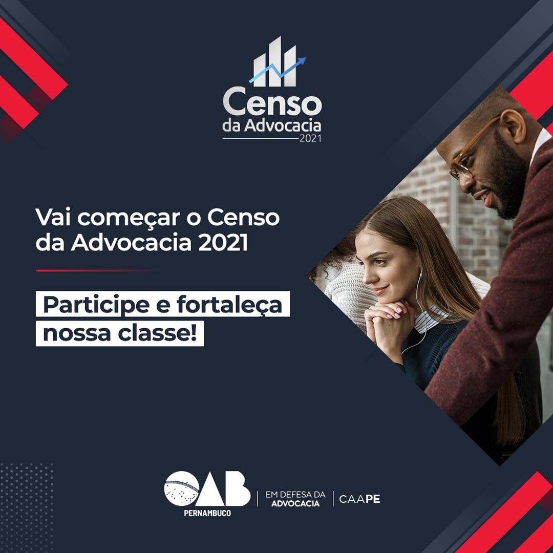 Censo da Advocacia pernambucana começa próximo dia 28 e será on-line
