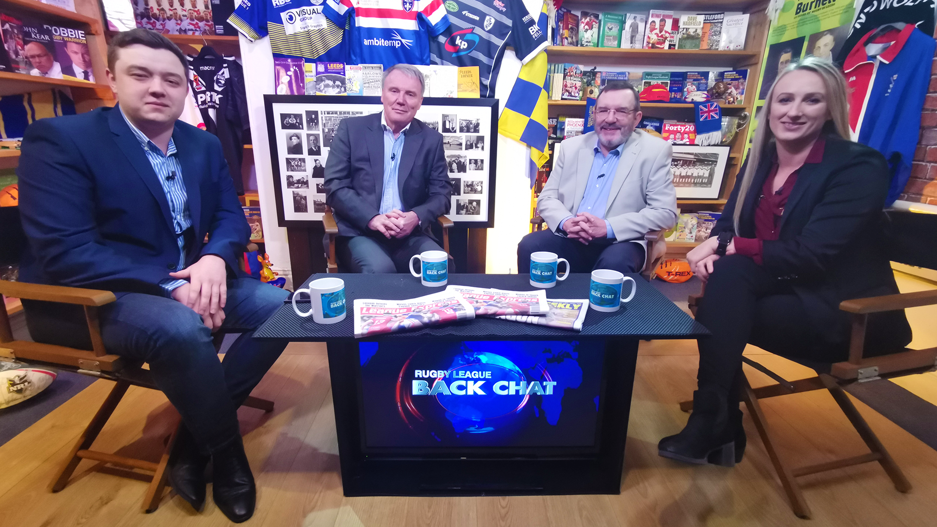 Television Talk Series UK Rugby League Back Chat