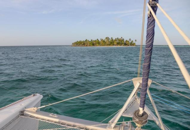 8 Ranguana Cay, la carte postale classique des Tropiques