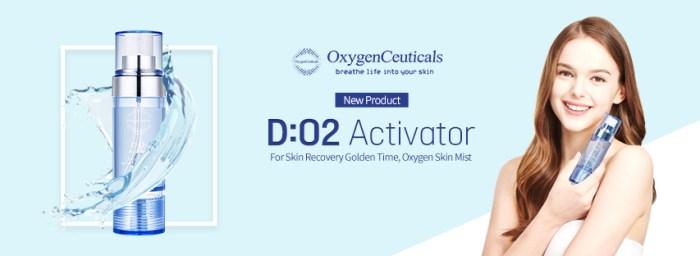 oxygenceuticals, do2activator, oxygenskinmist