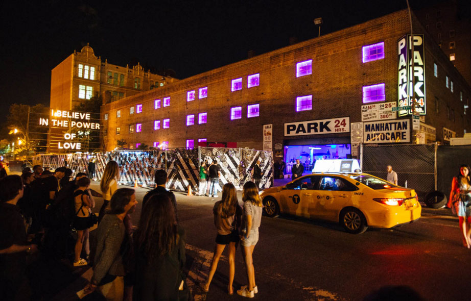 Givenchy After Party at Lower East Side Parking Garage