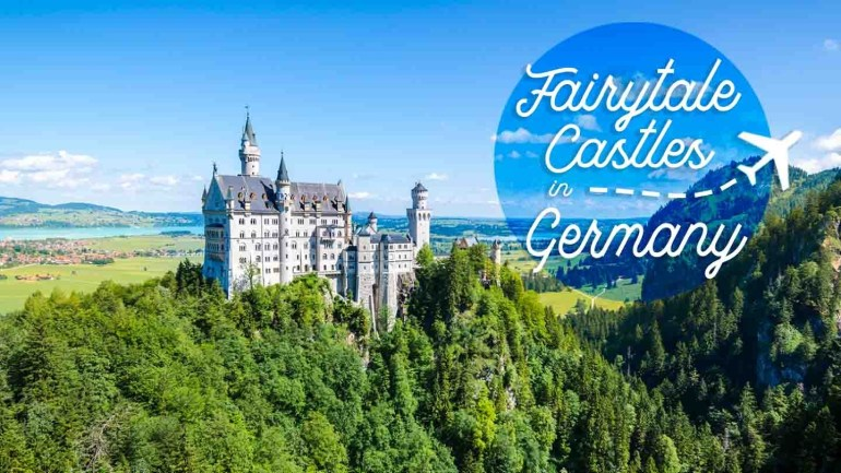 10 Amazing Fairytale Castles In Germany You Cannot Miss intended for Castles In Germany Map