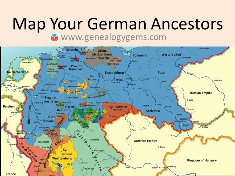 3 Free German Genealogy Websites: Maps Of Germany And Poland inside German Maps And Facts For Genealogy