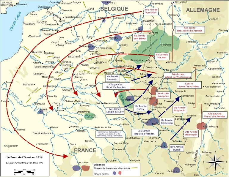 40 Maps That Explain World War I | Vox for Map Of Germany Before World War 1
