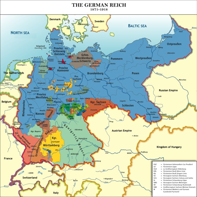 40 Maps That Explain World War I | Vox in Germany Map 1914