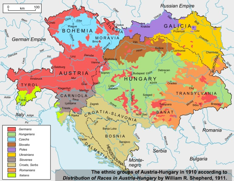 40 Maps That Explain World War I | Vox pertaining to Map Of Germany After World War 1