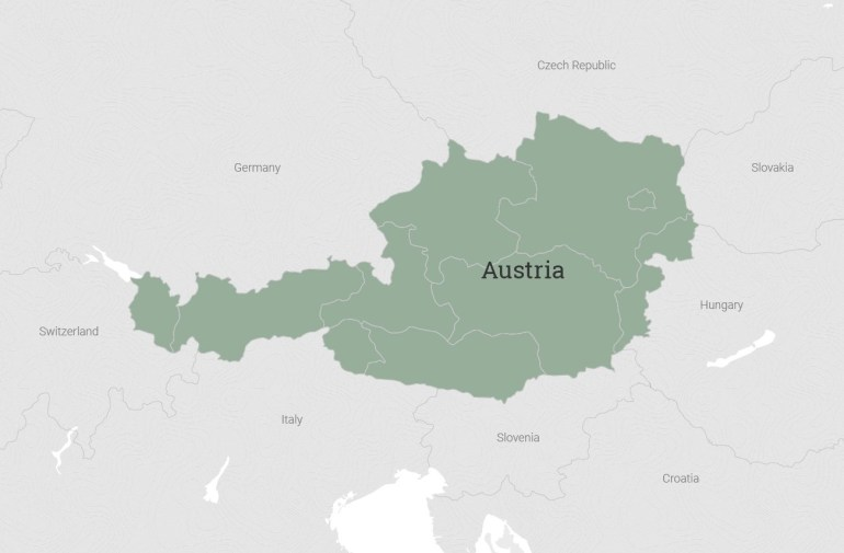 Austrian Bike Tours | Vbt Bicycling And Walking Vacations within Map Of Germany Austria And Czech Republic