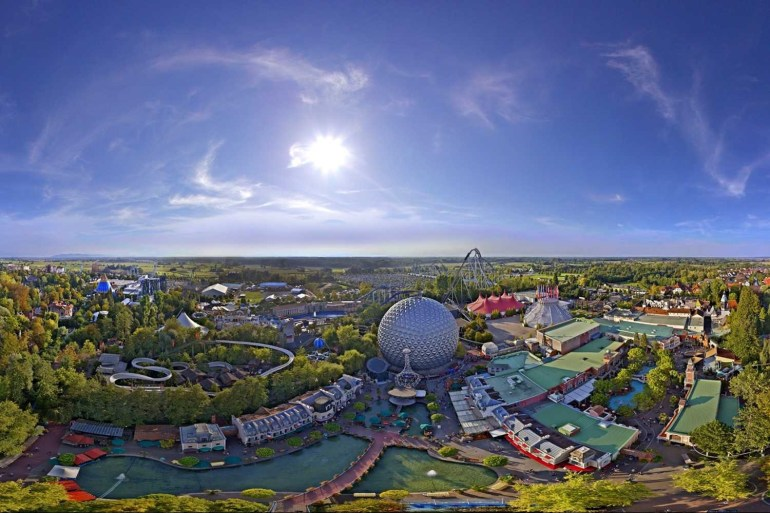 Best Theme Parks In Germany intended for Europa Park Germany Map Location
