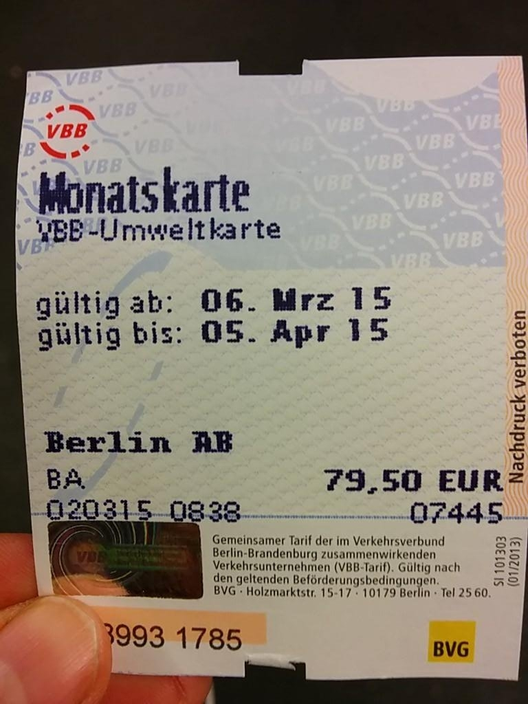 "Bvg U-Bahn On Twitter: ""@thinksofi Du Kannst Das Ticket In Jedem Bvg pertaining to Monatskarte Bvg Berlin"