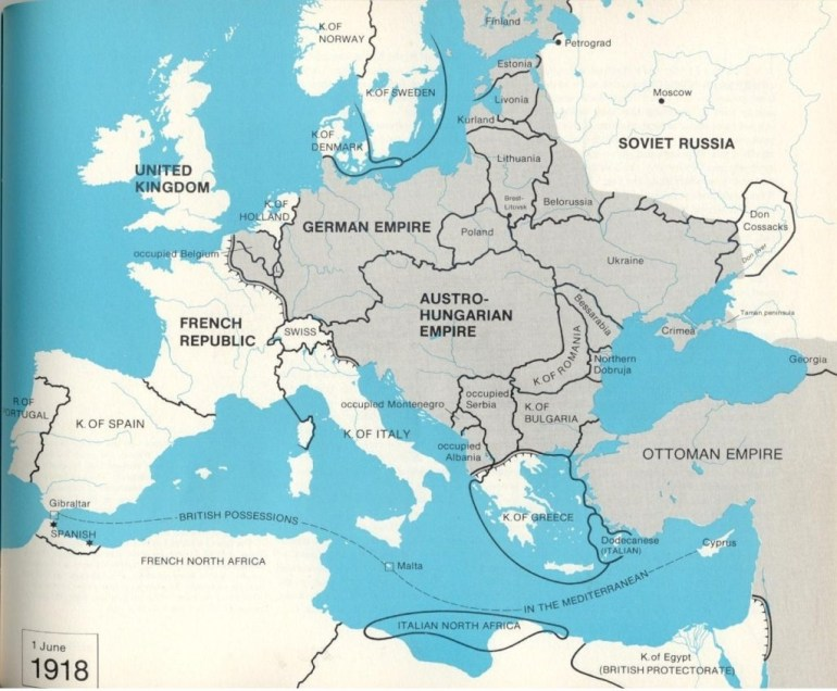 "Could Germany Have Won ""World War 1?"" – Section 117 throughout Map Of Europe If Germany Won Ww2"