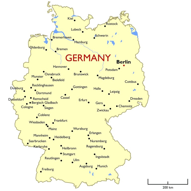 Dortmund In Germany Map – Heresthething in Dortmund Germany Map