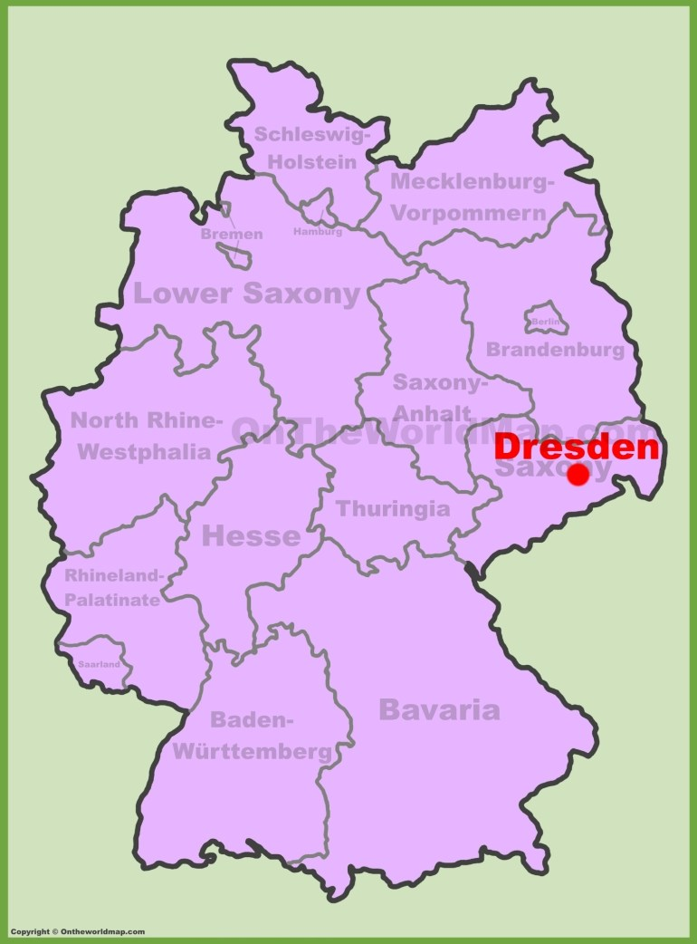Dresden Maps   Germany   Maps Of Dresden with regard to Dresden Germany City Map