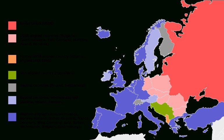 Eastern Bloc - Wikipedia pertaining to East Germany Map Cold War