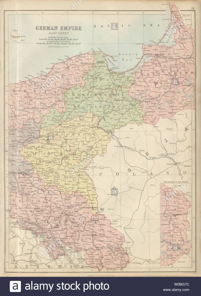 German Empire East. Germany Poland Prussia Silesia Posen with regard to Former East Germany Map