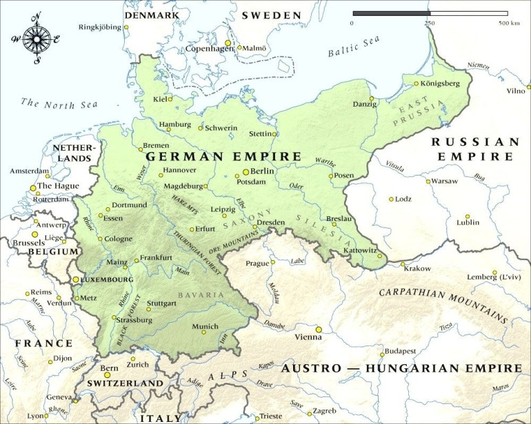 German Empire In 1914 Historical Maps Pinterest Magnificent Germany with Map Of Germany During Ww1
