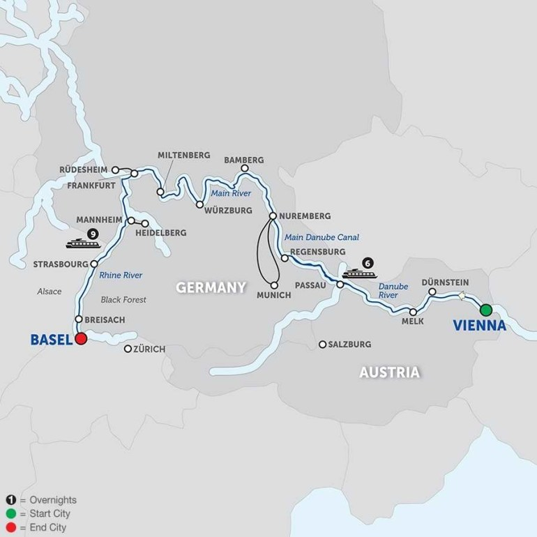 German River Map And Travel Information | Download Free German River Map regarding German Rivers Map
