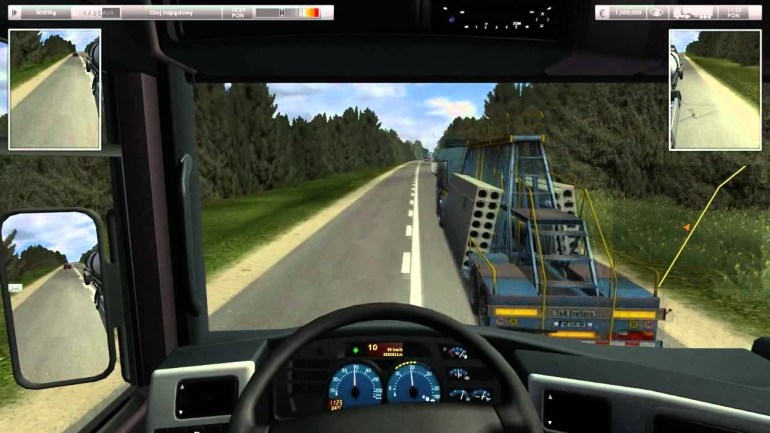 German Truck Simulator Best Russia Map Part1 throughout German Truck Simulator Europe Map
