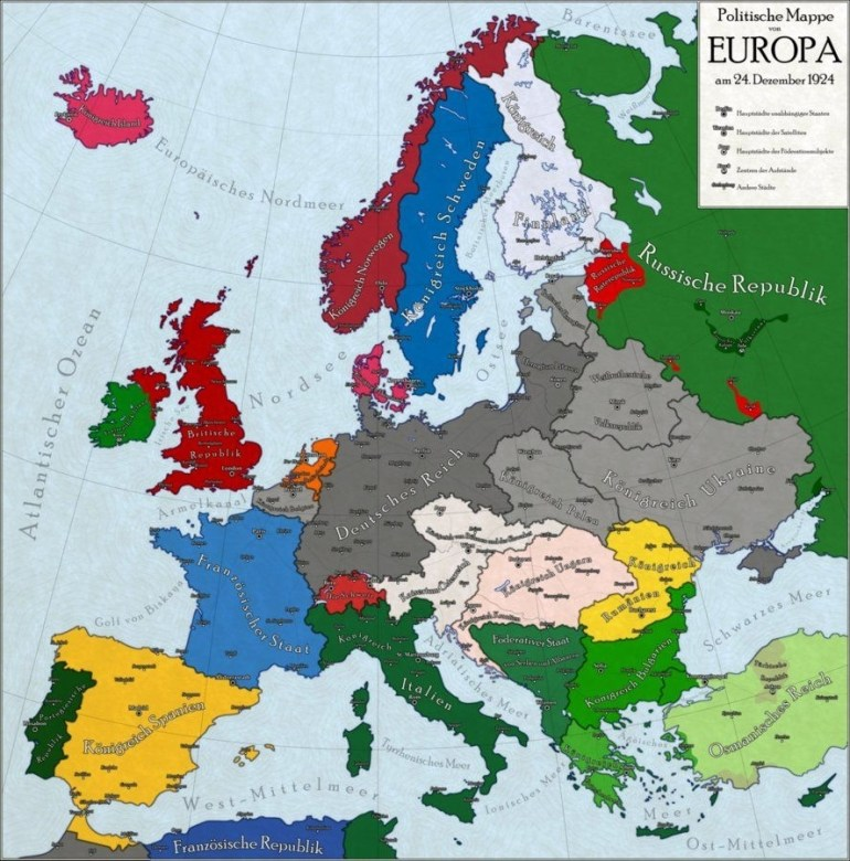 German Victory In Wwimichaelmustafin | Ww I | Map, Imaginary in Map Of Germany After Ww1
