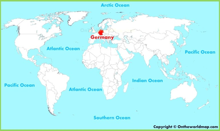 German World Map Maps Germany 96 Best Beautiful At On The Of And throughout Germany In The Map Of The World