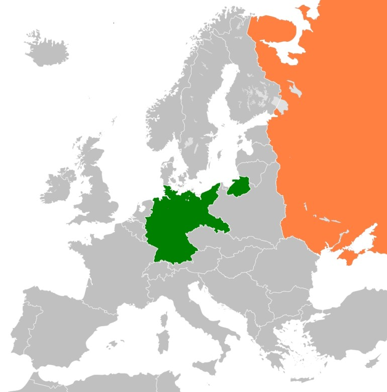 Germany–Soviet Union Relations, 1918–1941 - Wikipedia inside World Map Germany And Russia