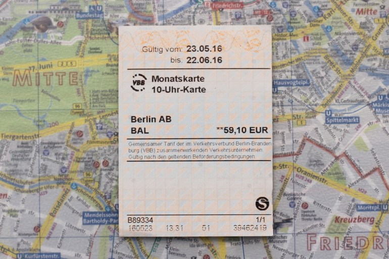 Getting Caught Without A Valid Ticket On Berlin Public Transport And regarding Monatskarte Bvg Berlin