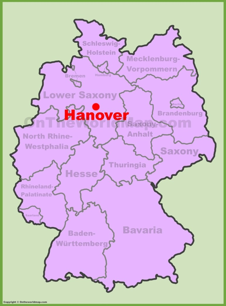 Hannover Maps | Germany | Maps Of Hannover (Hanover) regarding Hannover Germany Airport Map