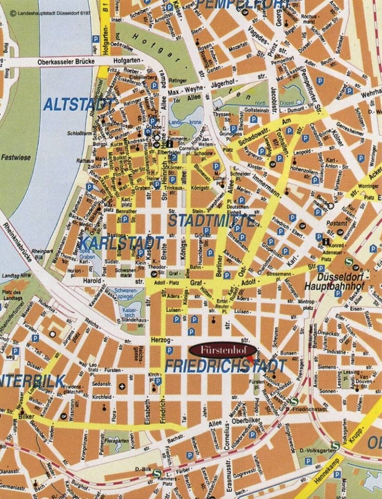 Large Dusseldorf Maps For Free Download And Print | High-Resolution for Dusseldorf Germany Map