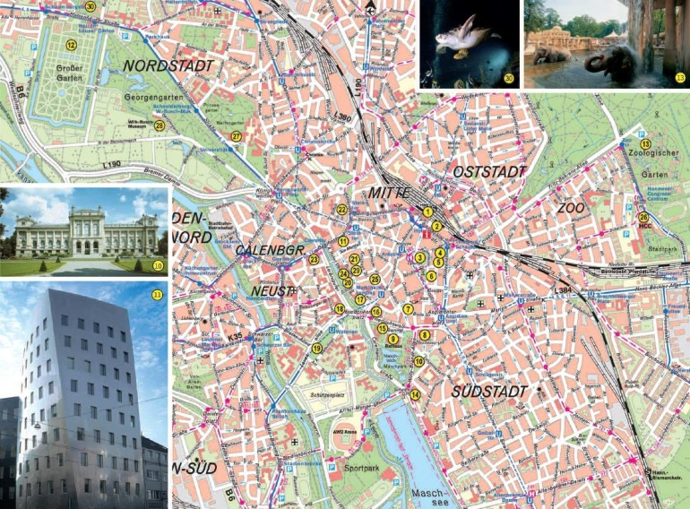 Large Hannover Maps For Free Download And Print   High-Resolution with regard to Hannover Germany Map