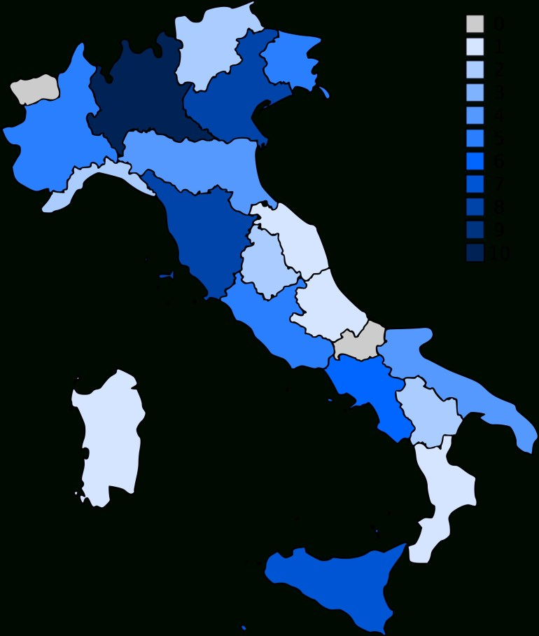 List Of World Heritage Sites In Italy - Wikipedia within Germany World Heritage Sites Map