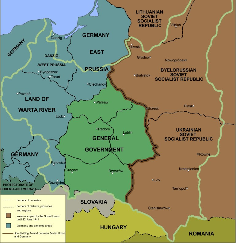 Location Of Auschwitz Concentration Camp regarding German Concentration Camps Map