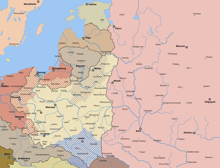 Map Germany Poland Russia | Posts: 1000 Or More | Germany | Poland pertaining to World Map Germany And Russia