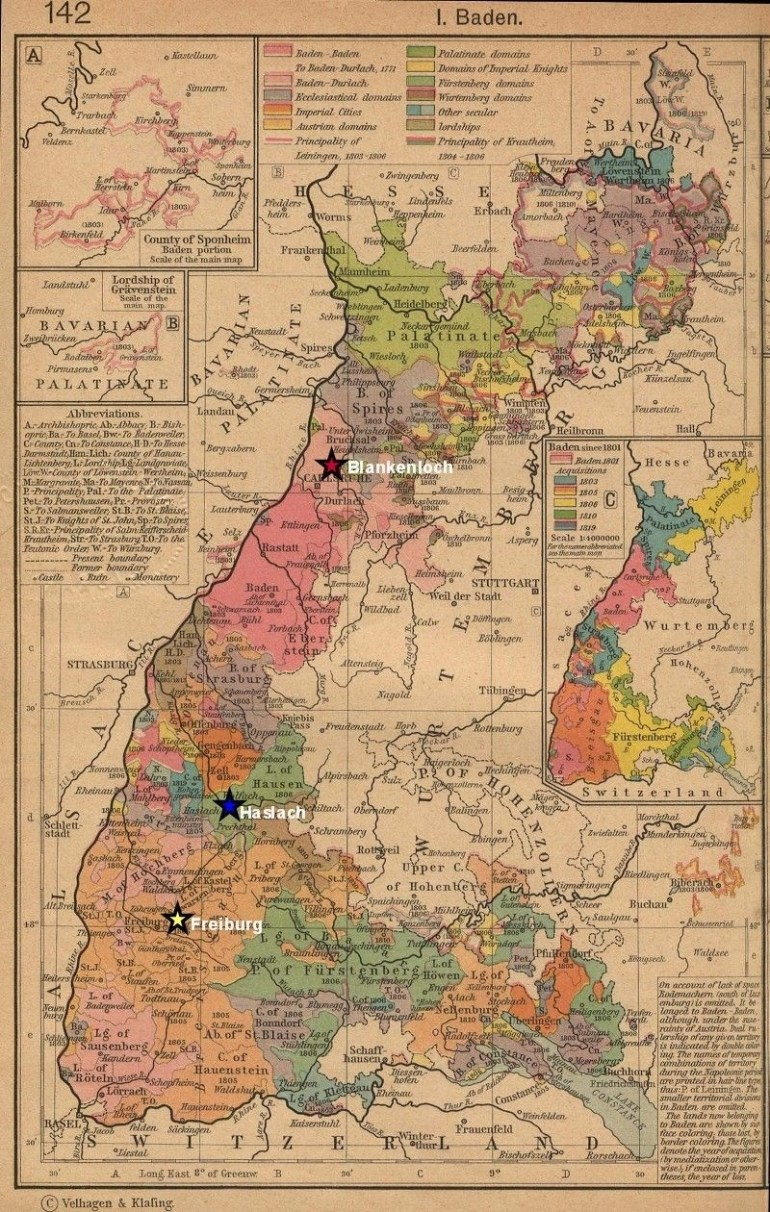 Map Of Baden Germany In 1800 | Me - Interests & Hobbies | Historical pertaining to German Maps And Facts For Genealogy