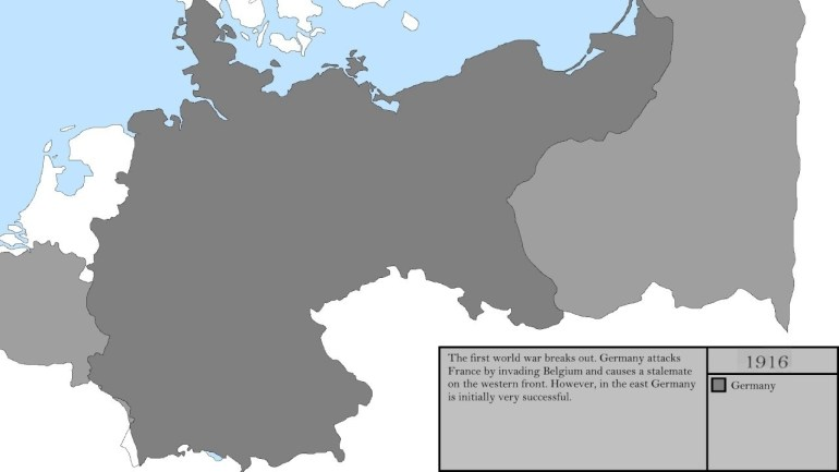 Maps Of Germany Throughout History - World Map pertaining to Maps Of Germany Throughout History