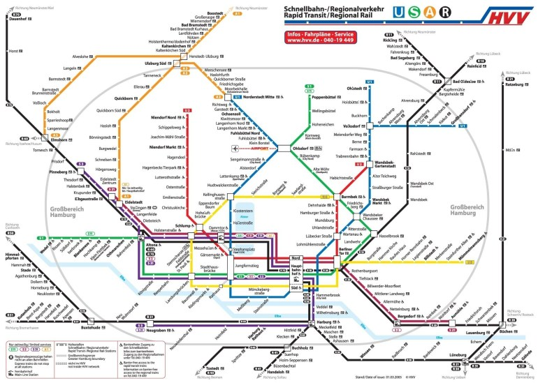 Metro Map Of Hamburg | Metro In 2019 | Subway Map, Train Map, Hamburg in Metro Map Hamburg Germany