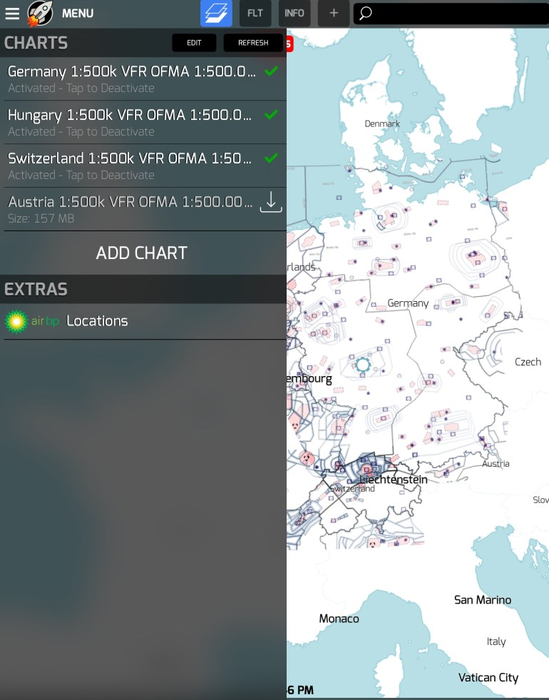 New Ofma Charts Available Free Of Charge | Rocketroute with Icao Map Germany Download